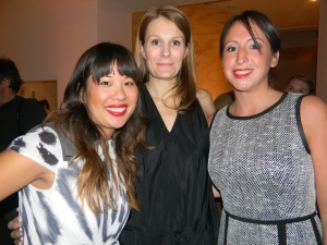Emily Huang, Anne Vincent and Jodi Riesenberg from Vogue magazine