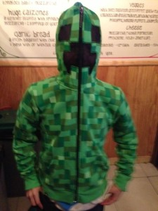Pixillation hoodie from NY Pizza 1 12 13
