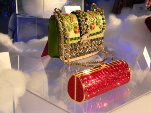 Silent auction jeweled handbags