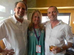 Jimmy Yeager, Nancy Mayer and Mitchell Vechard from Glenfiddich