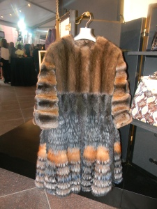 Fur coat from Fendi