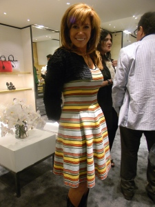 Angie Stewart in her own Fendi