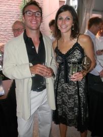 Charles Lucarelli and Christina Benedettii are Italian Glam!