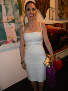 Teresita Fernandez, winner of 2013 Aspen Award for Art.