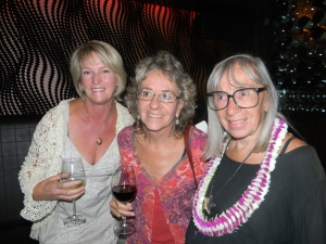 Diane Baker, Pauli Hayes (daughter) and Mary Eshbaugh Hayes
