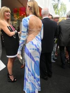 Elizabeth Kimple in Pucci