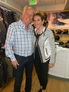 Stascha and Stefan Kaelin at their in-store event