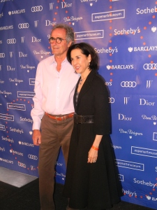 Tony and Mona Mazza in Christian Dior
