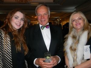 Gaye and daughter Skye Dixon with Ian