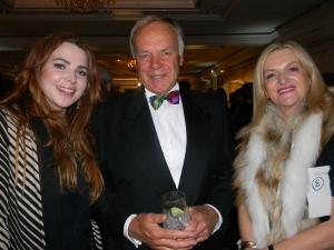 Gaye and daughter Skye Dixon with Ian