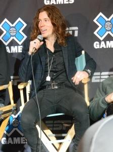 Shaun answering at press conference